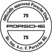Officially approved Porsche Club 75